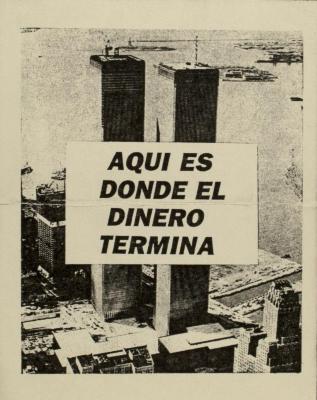 Aquí Es Donde El Dinero Termina / This is Where the Money Ends Up
