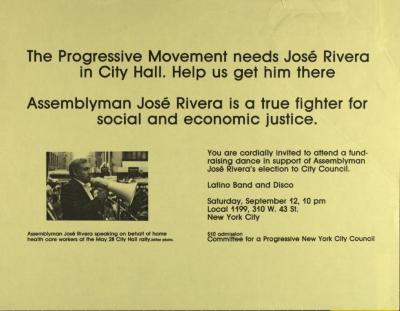 Campaign for Jose Rivera