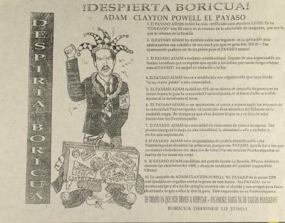 Despierta Boricua! / Wake Up Boricua!