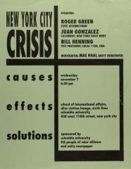 New York City Crisis