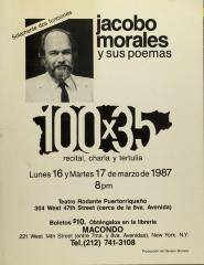 Jacobo Morales y Sus Poemas / Jacobo Morales and His Poems