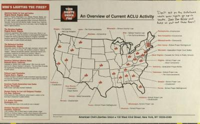 An Overview of Current ACLU Activity