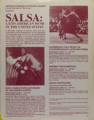 Salsa: Latin American Music in the United States