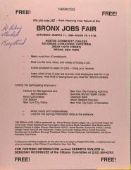 Bronx Jobs Fair