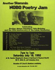 Another Slammin NOBO Poetry Jam
