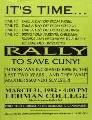 Rally to Save CUNY!