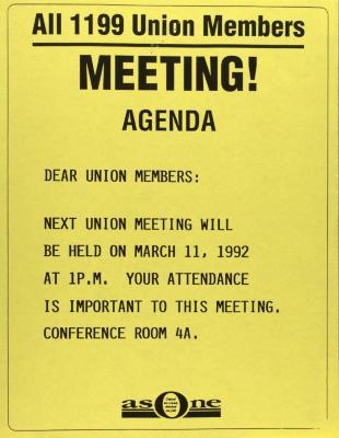 Meeting! Agenda