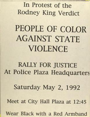 People of Color Against State Violence