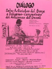 Diálogo Entre Activistas del Bronx e Indigenas-Campesinos del Amazonas del Brasil / Dialogue Between Activists of the Bronx and Indigenous Peasants of the Brazillian Amazon