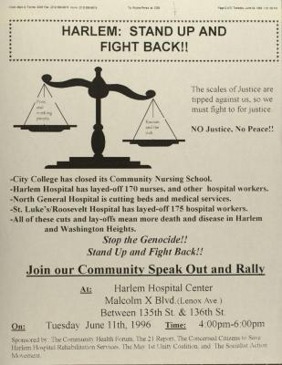 Harlem: Stand Up and Fight Back!