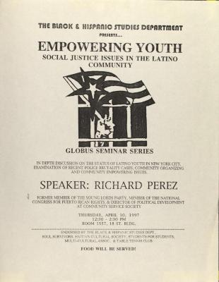 Empowering Youth - Social Justice Issues in the Latino Community