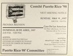 Comité Puerto Rico '98