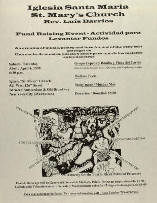 Actividad Para Levantar Fundos / Fundraising Event