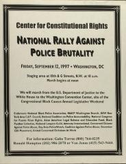 National Rally Against Police Brutality
