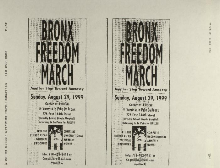 Bronx Freedom March