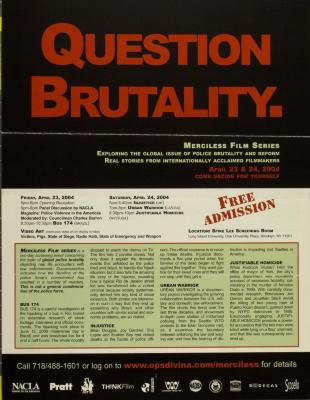 Question Brutality.