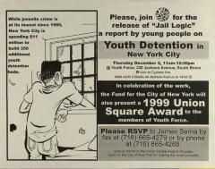 Youth Detention in New York City