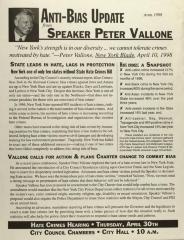 Anti-Bias Update from Speaker Peter Vallone