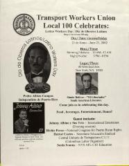 Transport Workers Union Local 100 Celebrates Latino Workers Day / Día Obreros Latinos