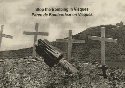 Paren de Bombardear en Vieques / Stop the Bombing in Vieques