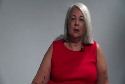Interview with Alma Rubal-Lopez on July 24, 2013