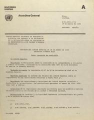 Decision Del Comite Especial de 16 de Agosto de 1988 Relativa A Puerto Rico / Decision of the Special Committee of August 16, 1988 Relative to Puerto Rico