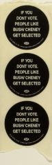 If You Don't Vote, People Like Bush/Cheney Get Selected