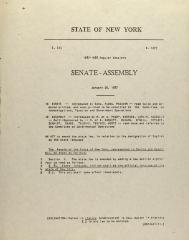 Senate - Assembly