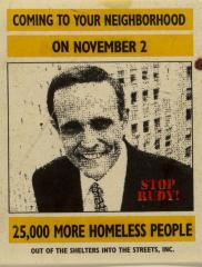 Coming to Your Neighborhood on November 2 - 25,000 More Homeless People