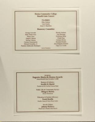 Hostos Community College - Benefit Gala Concert