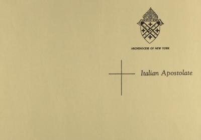 Italian Apostolate