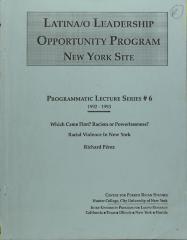Latina/o Leadership Opportunity Program - New York Site