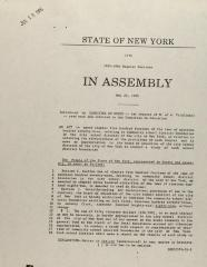 State of New York in Assembly