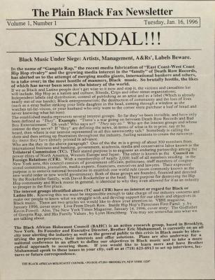 Scandal!!!