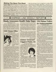 Hispanic Link Weekly Report