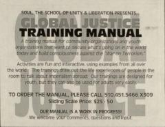 Global Justice Training Manual