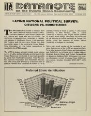 Latino National Political Survey: Citizens vs. Noncitizens