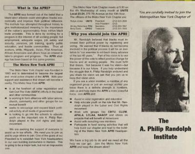 The A. Philip Randolph Institute