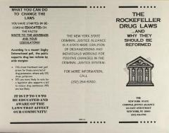 The Rockefeller Drug Laws . . . And Why They Should Be Reformed