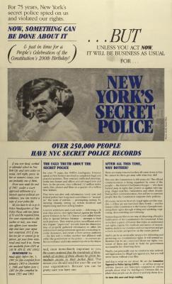 New York's Secret Police