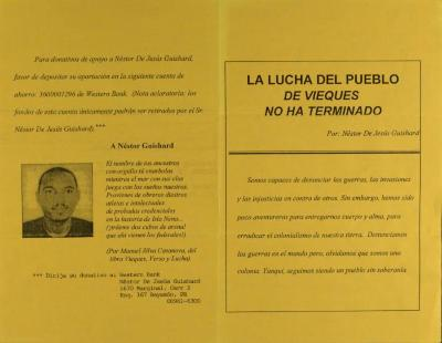 La Lucha Del Pueblo De Vieques No Ha Terminado / Vieques' Fight Has Not Ended