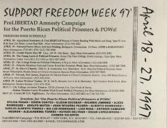 Support Freedom Week '97