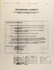 Peacemaking Journeys