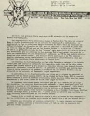 Comite Pro Libertad de Los Presos Nacionalistas Puertorriqueños / Committee For the Freedom of the Puerto Rican Nationalist Prisoner