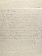 Correspondence from Antonio Fernandez