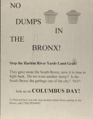 No Dumps in the Bronx!