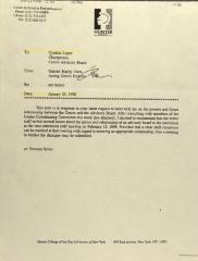 Memorandum from Gabriel Haslip-Viera