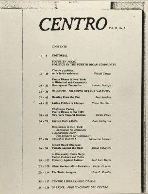CENTRO Journal
