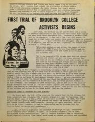 First Trial of Brooklyn College Activists Begins