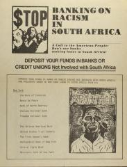 Stop Banking on Racism in South Africa
